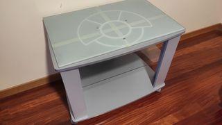 Mesa de televisión + regalo cristal templado