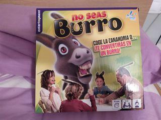 juego familiar no seas burro
