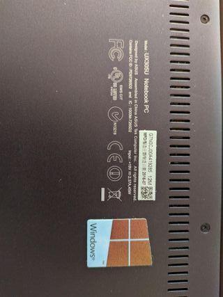 Asus Zenbook UX305UA ordenador portátil