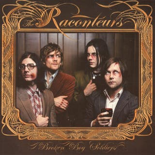Raconteurs - Broken Boy Soldiers CD