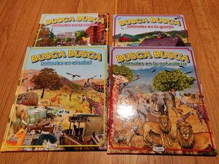 Colección libros animales infantil