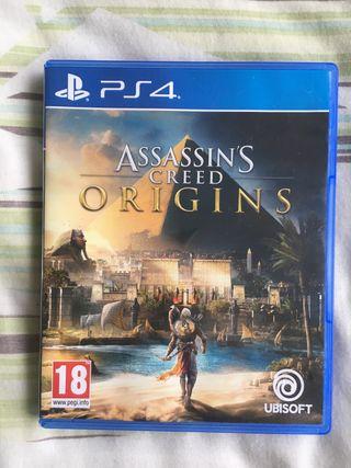 Assassins creed Origins Ps4 game