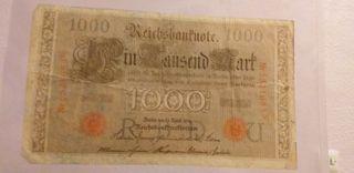 billete muy antiguo