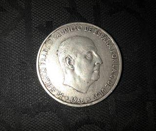 Moneda 100 PTAS F.Franco/Plata