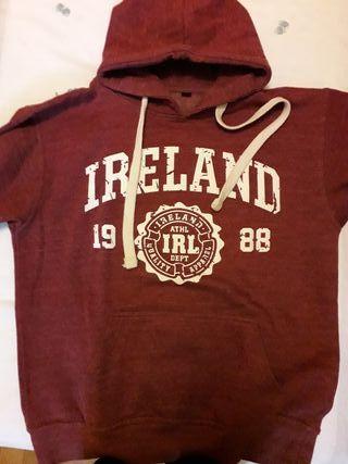 Sudadera granate Ireland