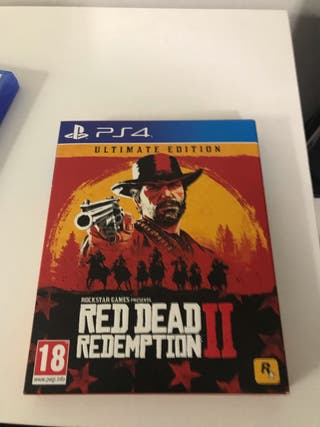 Red dead redemption 2 edición limitada
