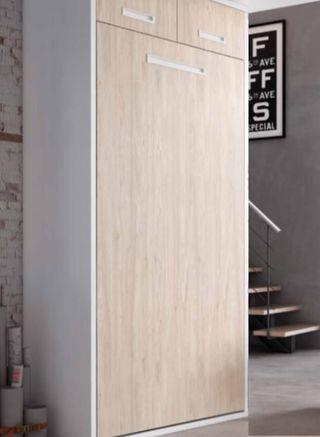 Cama abatible vertical ancho,97cms