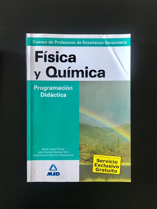 Física y Química. Temario Oposiciones Secundaria