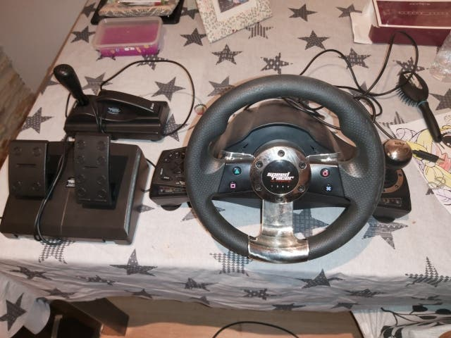 volante de carreras ps3