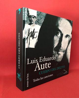 Libro... Luis Eduardo Aute. NUEVO