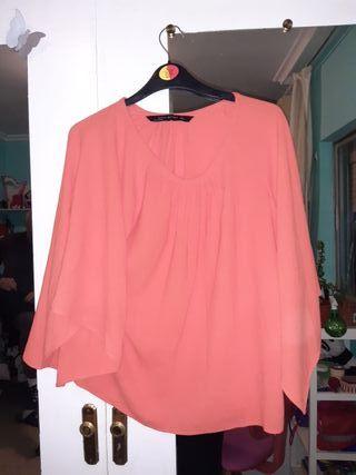 Camiseta Blusa mujer de Zara