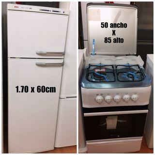 Pack cocina + Nevera con garantía