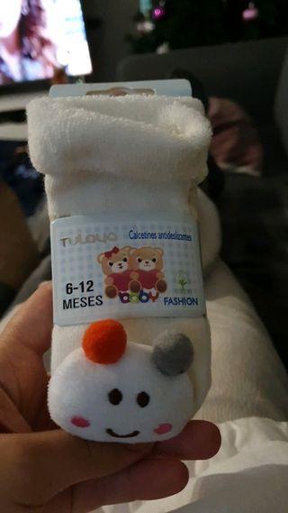 Calcetines antideslizantes 6-12 meses