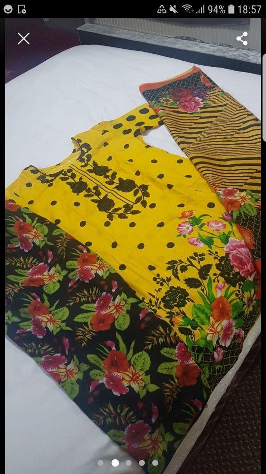 stitched clothes khaddar suits