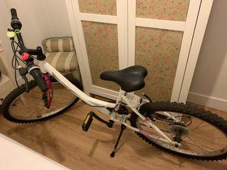 Bicicleta niña/junior 7-12 años