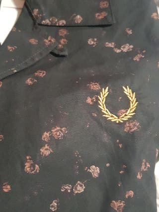 camisa Fred perry Miles kane talla M Descuento 50