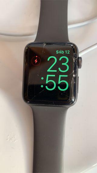 Iwatch 3, pantalla rota, resto perfecto