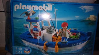 playmobil barco de pesca