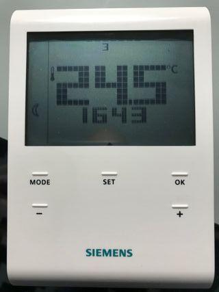 Termostato Calefacción Siemens