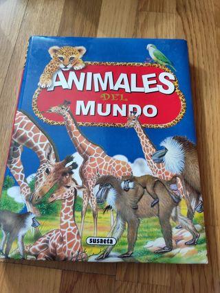 Animales del mundo. Libro infantil