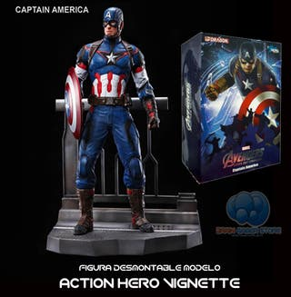 Figura Marvel - Capitán América - Age of Ultron