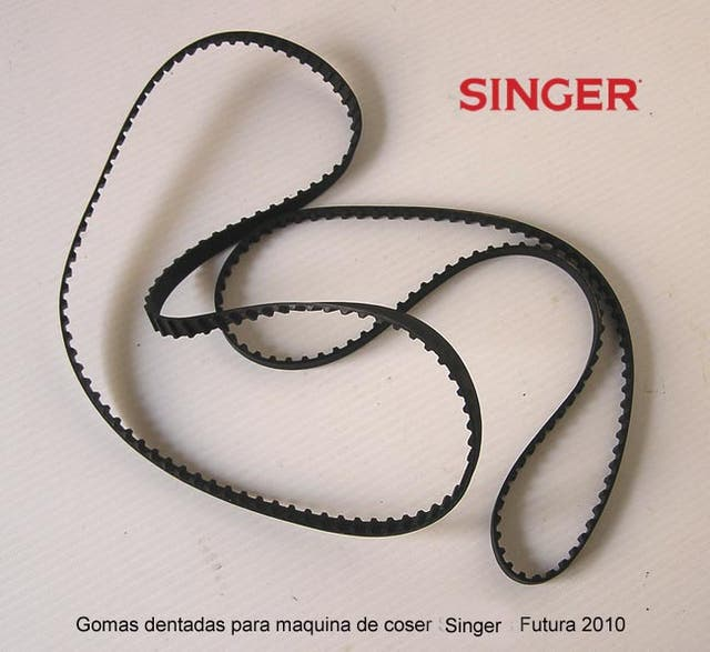 Correas dentadas para maquina de coser Singer de segunda