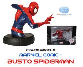Figura Marvel Comic - Busto Spiderman