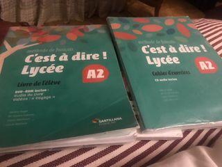 Libros francés 1º bachillerato