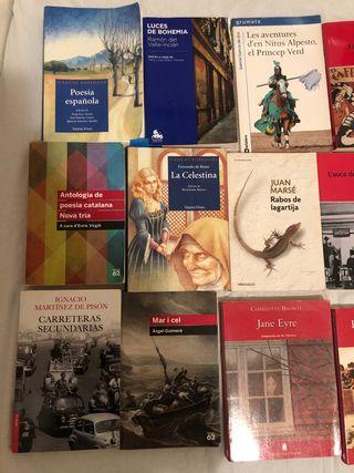 Libros lectura eso y bachillerato
