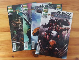 Pack Comics Grapa Marvel