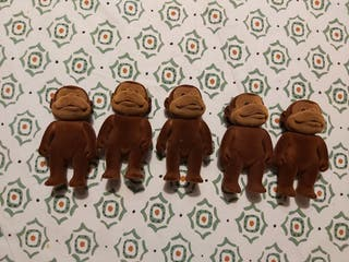 Lote figuras Forest Friends