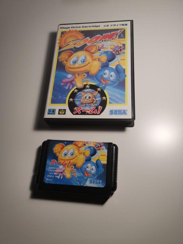 Zoom Mega Drive Cartridge NTSC