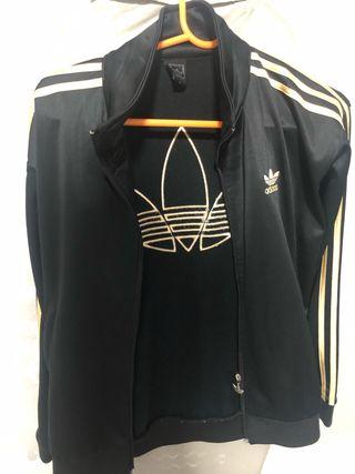 chaqueta adudas negra gran canria lrecio