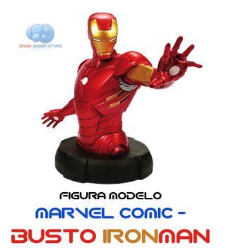 Figura Marvel Comic Busto Ironman