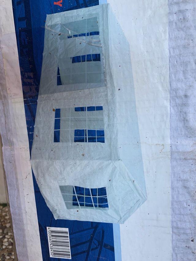 Carpa a estrenar 6 x 3 metros (tela polietileno)