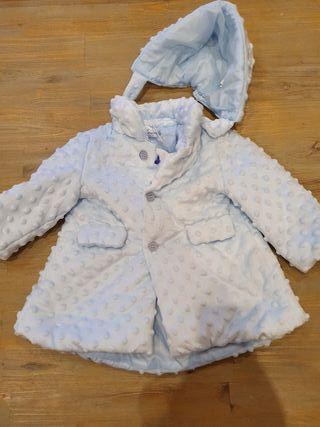 abrigo bebé sin estrenar