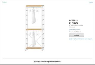 Mueble Ikea Elvarli