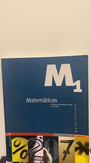 Matemáticas 1 bachillerato edelvives