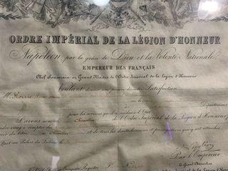 Orden imperial de la legion d'honneur Napoleon