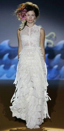 Vestido de novia Josep Font
