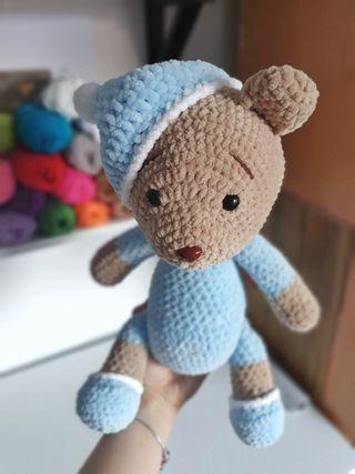 Handmade bear toy