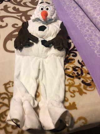 Disfraz de Disney Olaf talla4 20euros.