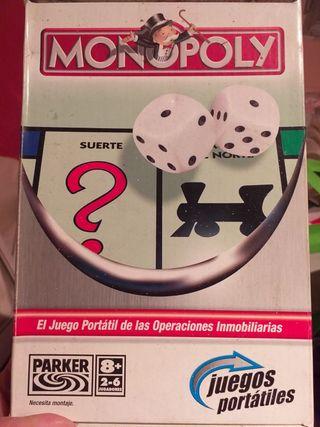 Juego Monopoli de viaje