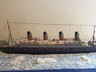 titanic maquetas