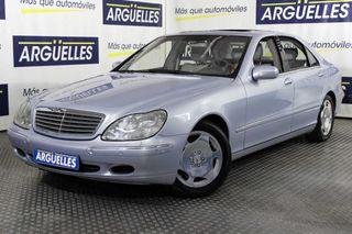 Mercedes Clase S S 600 Largo V12 367cv NACIONAL IMPECABLE