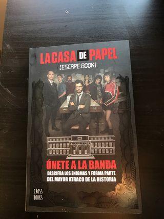 Libro La casa de papel: Escape book