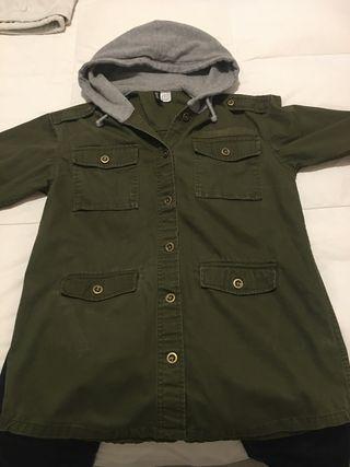 Camisa corte militar
