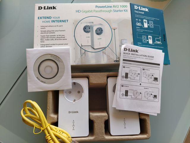 PLC D-Link PowerLine AV2 1000 Gigabit Adapter