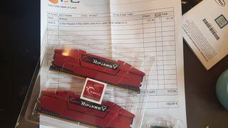 Memoria ram ddr4 2400 mhz 16gb (2x8)