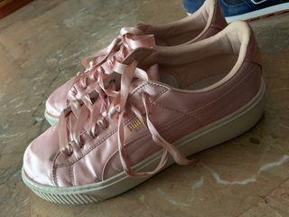 Bambas Puma rosa claro